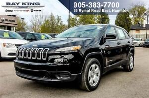 2017 Jeep Cherokee SPORT, KEYLESS ENTRY, BACKUP CAM, PWR WINDOWS