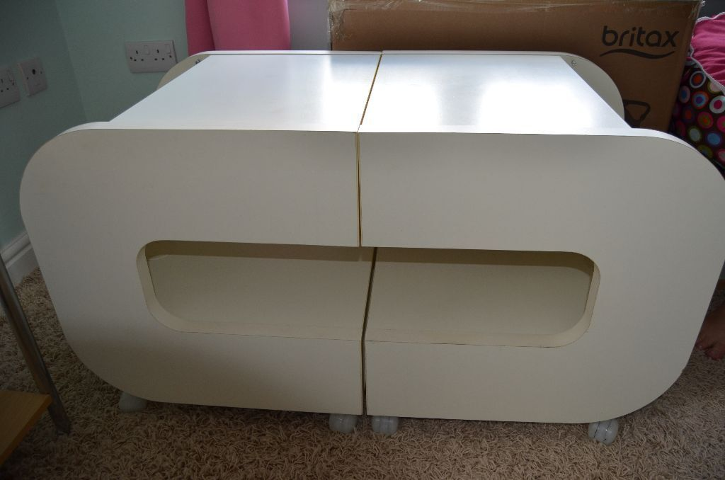Ikea Ilen Tv Stand Bedside Tables White Modern Funcky