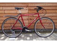 Dawes hybrid bike, fully serviced with lots of new parts , town bike commuter, great condition