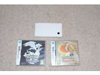 Nintendo DSI with Pokemon, Mario and Sonic games