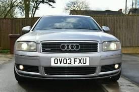 Audi A8 D3 4.2 V8 Petrol 335BHP Quattro Automatic