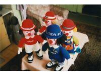 Knitted Handmade Dolls