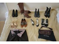 Various Designer shoes and clothes - Pied a Terre, Kurt Geiger, Kenneth Cole FCUK, Ted Baker