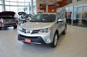 2014 Toyota RAV4 Limited AWD Leather, Navigation, Memory Seats