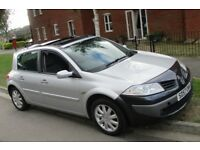 RENAULT MEGANE DYNAMIQUE 1.6L 2007 5 DOOR LONG MOT