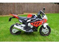 BMW S1000RR Rechargable 12v Kids Ride On Motorbike