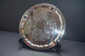 Falstaff Silver Plated Tray/Salver £10 ono