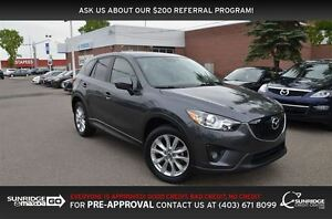 2014 Mazda CX-5 GT, LEATHER, SUNROOF, HEATED SEATS