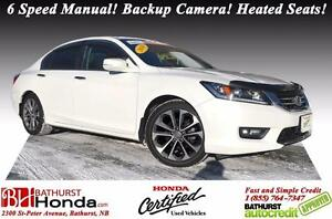 2014 Honda Accord Sedan Sport Honda Certified! 6 Speed Manual! B