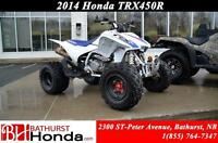 2014 Honda TRX450R New Tires! New Brakes! New Rear Carrier Beari