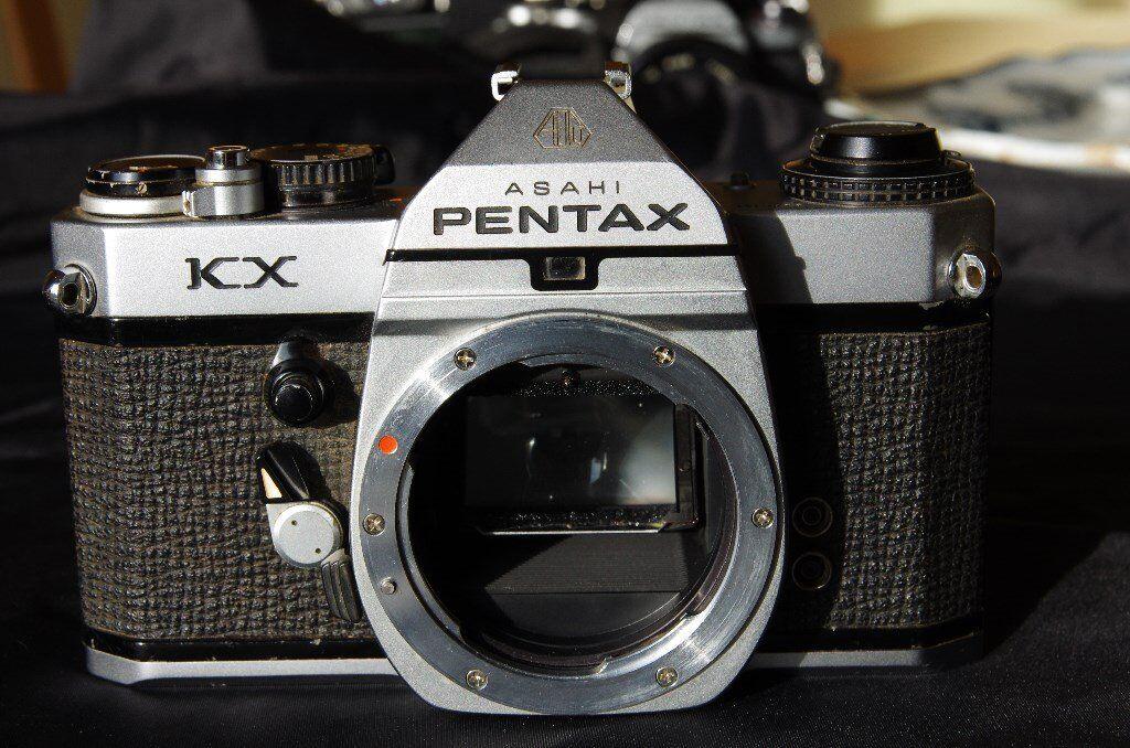 Pentax KX film SLR