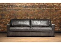 Leather Sofa for Sale perfect condition hardly been used.