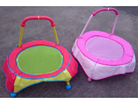 Choose from 2 Lovely Trampolines