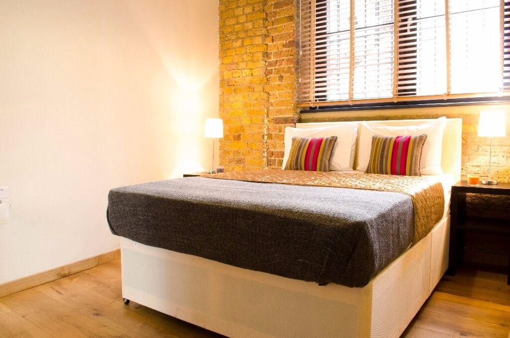 2 bed/2 bath apartment in Shoreditch*Fully furnished*1 week min*Bills inc