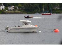 Boat Quicksilver 630SD and trailer