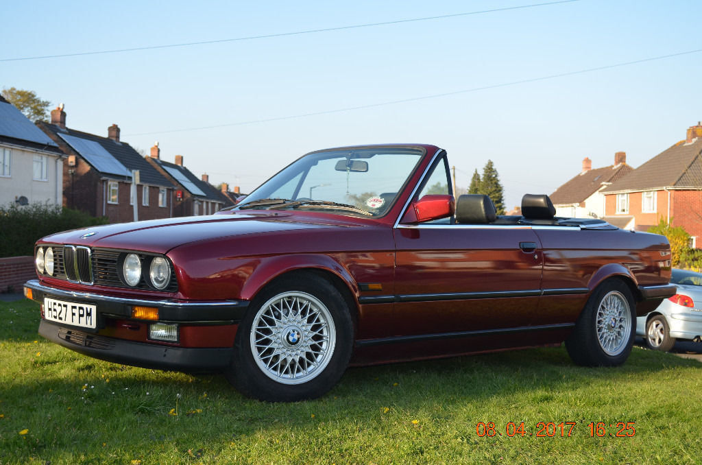 bmw e30 325i convertible cabrio dual fuel lpg in. Black Bedroom Furniture Sets. Home Design Ideas