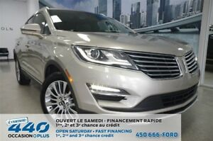 2015 Lincoln MKC | 2.0L ECOBOOST AWD, CUIR, TOIT, NAVIGATION