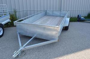 6x12 Hot Dipped Galvanized Utility Trailer!