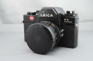 COLLECTION OF LEICA R CAMERAS R3 R4 R4S R5 R6 R7 R8 R9 with lenses