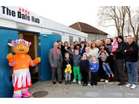 Receptionist at The Dale Hub: a local family support charity