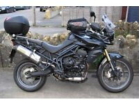 2013 Triumph Tiger 800 With Extras