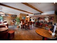 BAR 166 & BISTRO - HORSFORTH - BAR & WAITING STAFF