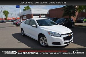 2016 Chevrolet Malibu LT, BLUETOOTH, CRUISE, ALLOYS