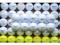50 used Srixon AD333 golf balls.