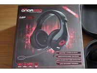 Ozone Onda Pro X-Surround Pro USB Gaming Headset Black PC/PS4