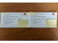 2 x Nick Cave - Royal Albert Hall - Thursday 7th October (face value)