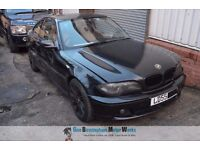 BMW E46 320CD COUPE BREAKING - MOST PARTS AVAILABLE INC ENGINE/GEARBOX/DIFFS +++