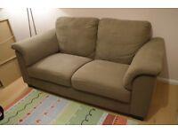 IKEA Tidafors sofa double two-seater hensta dark brown - £80 ONO
