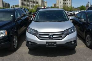 2014 Honda CR-V EX-L, 4 WHEEL DRIVE, HEATED LEATHER SEATS, MOON