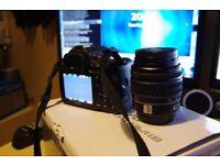 Pentax K500 Digital SLR camera 18-55 lens