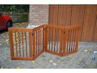 Wooden folding gate for sale