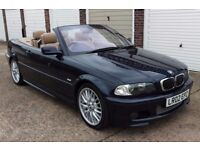 T-Z CARS PRESENT A 2002 BMW 325 CI SPORT AUTO CONVERTIBLE HISTORY 6 MONTHS WARRANTY PX WELCOME