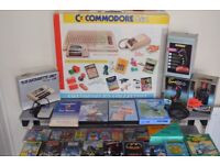 Commodore C64 Connoisseurs Collection, 3 Joysticks, Mouse and 44 classic games