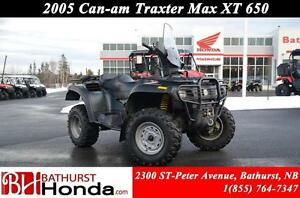 2005 Can-Am Traxter Max 650 Windshield! Winch!