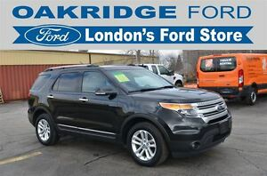 2015 Ford Explorer LOADED XLT WITH LEATHER SUNROOF NAVIGATION AN