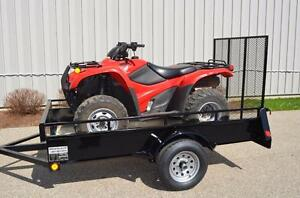 ATV Trailer Best Value, 5 year Warranty, High Quality Steel Construction , Canadian Made Utility Trailer!