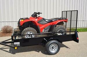 ATV Trailer Best Value, 5 year Warranty price plus tax No Hidden charges Come see Our Trailers