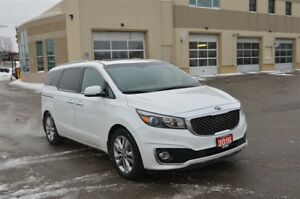 2015 Kia Sedona SXL - GPS, Heated Seats, Back Up Cam