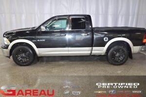 2010 Dodge RAM 1500 4WD QUAD CAB 4X4 - 5.7L - NAVIGATION - TOIT