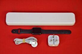 Apple Watch Sport 42mm Aluminium Space Grey Series 1 £220