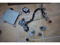 Civic Key Ignition Locking Set Door Boot Locks Ej9 96 98 99 00 Ek3 EK Ek4 EK9
