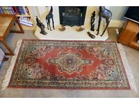 "Pure New Wool Traditional Style Rug Width 36"" (90cm) Length 71"" (180cm)"