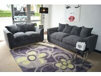 BRAND NEW DYLAN JUMBO CORD CORNER OR 3+2 SEATER SOFA SET AVAILABLE IN MANY COLORS ORDER NOW