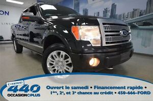 2010 Ford F-150 Platinum * Cuir, Toit Ouvrant, Navigation *