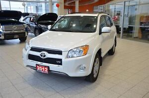 2012 Toyota RAV4 Limited V6 AWD, Navigation, Leather, Rear Camer