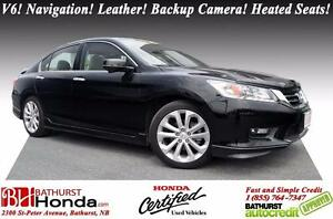 2015 Honda Accord Sedan Touring LIKE NEW! LOW KM's! Winter Tires